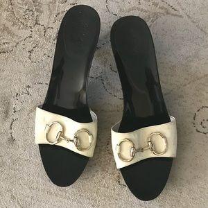 Gucci  vintage mule sandals